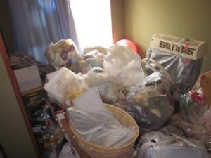 お部屋のゴミ